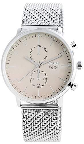 Akzent Herren-Armbanduhr Analog Quarz verschiedene Materialien SS8827500012