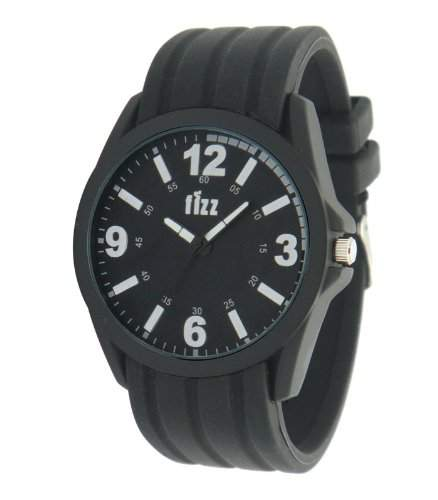 Fizz Unisex-Armbanduhr 5010722 Analog schwarz 5010722