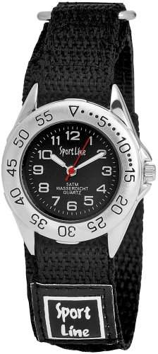 Sportline Damen-Armbanduhr XS Analog Quarz Textil 120021000001