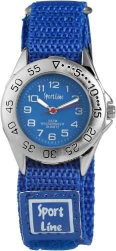 Sportline Damen-Armbanduhr XS Analog Quarz Textil 120023000001