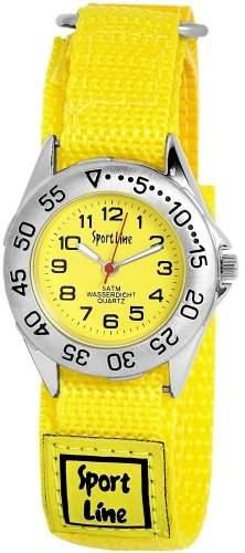 Sportline Damen-Armbanduhr XS Analog Quarz Textil 120024000001