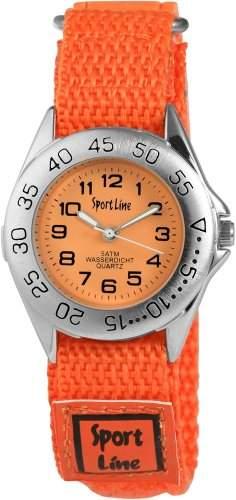 Sportline Damen-Armbanduhr XS Analog Quarz Textil 120025800001
