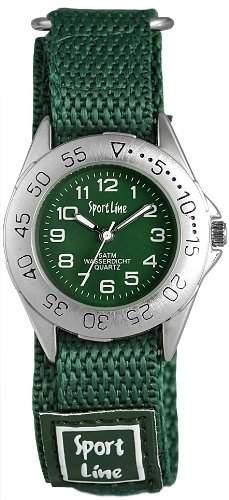 Sportline Damen-Armbanduhr XS Analog Quarz Textil 120026000001