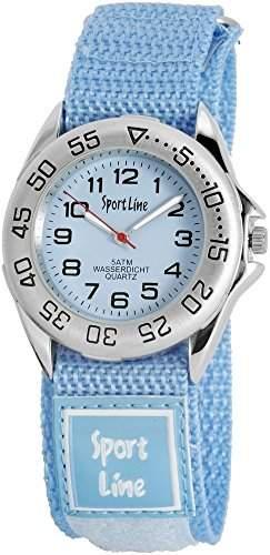Sportline Herren-Armbanduhr XL Analog Quarz Textil 220023200001