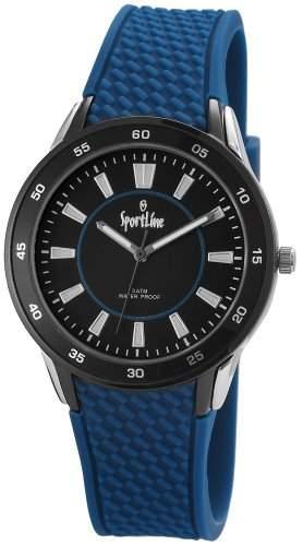 Sportline Damen-Armbanduhr Analog Quarz Kautschuk 220821000001