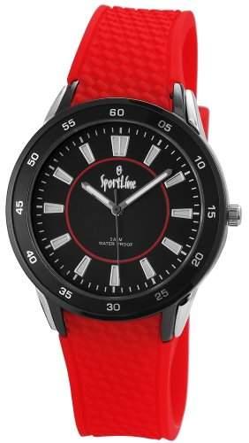 Sportline Damen-Armbanduhr Analog Quarz Kautschuk 220821100001