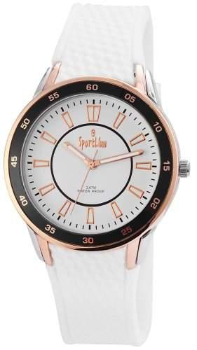 Sportline Damen-Armbanduhr Analog Quarz Kautschuk 220822000001