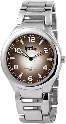 Sportline Herren-Armbanduhr XL Analog Quarz verschiedene Materialien 284321000006