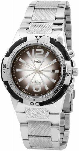 Sportline Herren Armbanduhr XL Analog Quarz verschiedene Materialien 281521000008