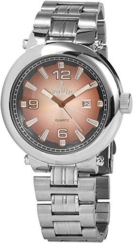 Sportline Herren Armbanduhr XL Analog Quarz verschiedene Materialien 281527000004