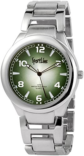 Sportline Herren Armbanduhr XL Analog Quarz verschiedene Materialien 284326000006