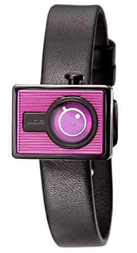 Tac Damen ts1103 a Kanal Cute Schwarz Lederband Armbanduhr