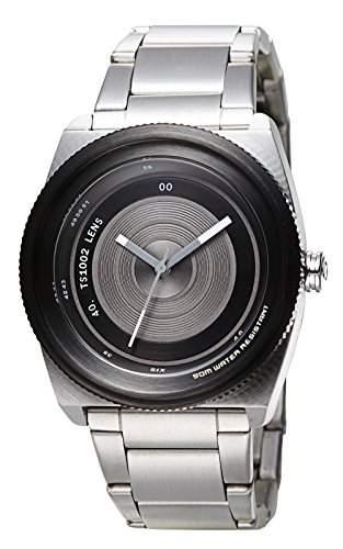 TACS Unisex-Armbanduhr Analog Quarz Edelstahl TS1002A