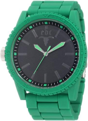 Esprit edc EE100291011 Herrenuhr military star waterfall green gruen 30m Analog