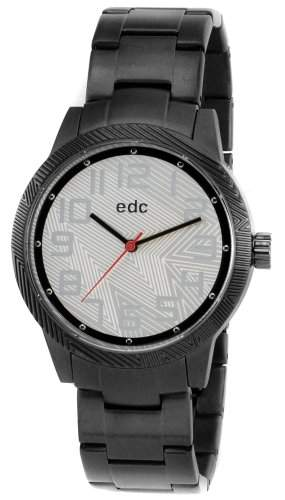 EDC by ESPRIT Uhr Herrenuhr Pop Boy Cool Black Silver 4189
