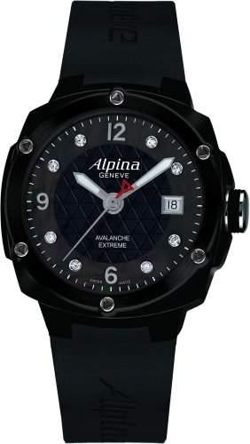 Alpina Geneve Avalance Extreme Ceramic AL-240MPBD3FBAEC6 Sportliche Damenuhr mit echten Diamanten