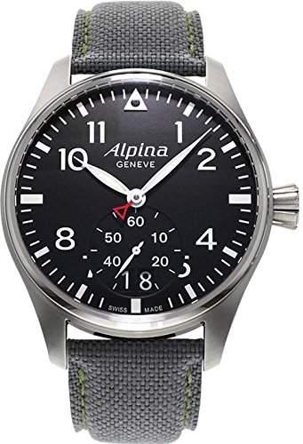 Alpina Geneve Startimer Pilot AL-280B4S6 Herrenarmbanduhr Sehr gut ablesbar