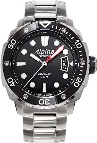 Alpina Geneve Diver 300 AL-525LB4V36B Herren Automatikuhr Alpina Rotor