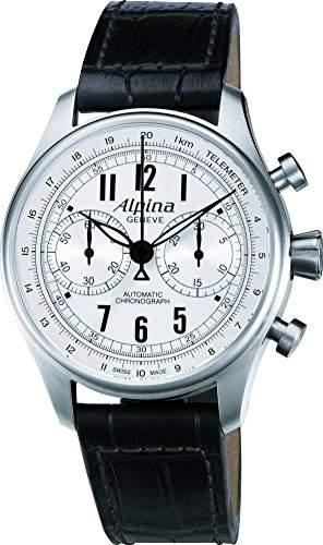 Alpina Geneve Startimer Classics Automatic Chronograph AL-860SCP4S6 Sportliche Herrenuhr Alpina Rotor