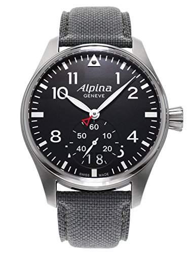 Alpina Startimer Pilot Big Date Herrenuhr AL-280B4S6