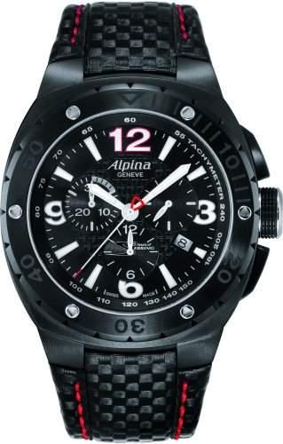 Alpina Geneve Racing Chrono AL352LBR5FBAR6 Sportliche Herrenuhr Streng Limitierte Auflage