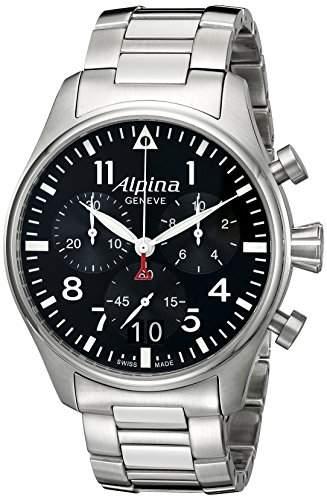 Alpina Startimer Pilot Chronograph Herrenuhr AL-372B4S6B