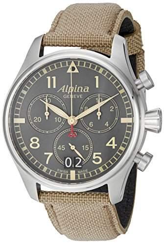 Alpina Startimer Pilot Herren-Chronograph AL-372BGR4S6