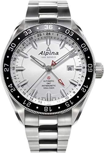 Alpina Alpiner 4 GMT Automatik Herrenuhr AL-550S5AQ6B
