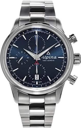 Alpina Geneve Alpiner Chronograph Herren Automatikchronograph Sehr Sportlich