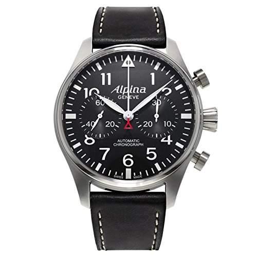 Alpina Geneve Startimer Chronograph AL860B4S6 Sportliche Herrenuhr Alpina Rotor