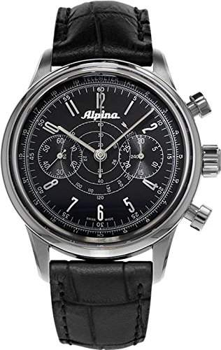 Alpina Geneve Alpina 130 Heritage Pilot Chronograph AL-860G4H6 Sportliche Herrenuhr Alpina Rotor