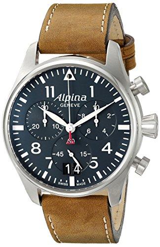 Alpina AL 372N4S6 Startimer Pilot Herrenchronograph Big Date Armbanduhr