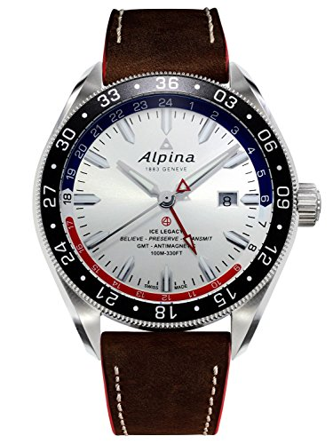 Alpina Alpiner 4 GMT Automatic Herrenuhr AL 550SRN5AQ6