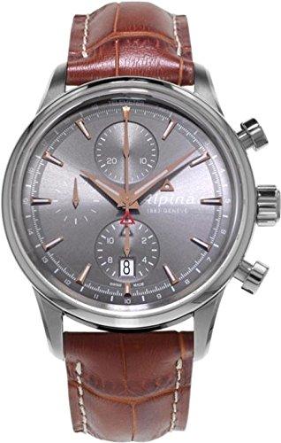 Alpina Geneve Alpiner Chronograph Herren Automatikchronograph Sehr Sportlich 750VG4E6