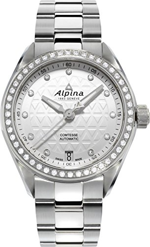 Alpina Geneve Comtesse Automatic mit echten Diamanten AL 525STD2CD6B