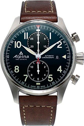 Alpina Geneve STARTIMER PILOT AUTO CHRONO AL 725N4S6 Herrenchronograph Alpina Rotor