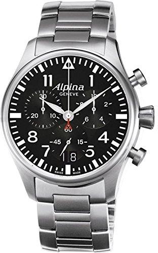 Alpina Geneve Startimer Pilot AL 372B4S6B Herrenchronograph Fliegeruhr