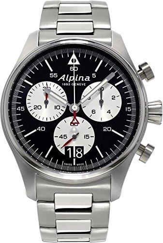 Alpina Geneve Startimer Pilot Herrenchronograph Fliegeruhr 372BS4S6B