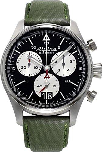 Alpina Geneve Startimer Pilot Herrenchronograph Fliegeruhr 372BS4S6