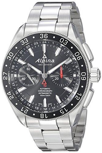 Alpina Alpiner Chronograph 4 Automatic Stainless Steel Mens Watch AL 860B5AQ6B