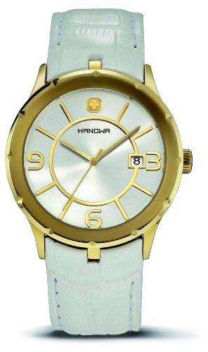Hanowa Herren Armbanduhr XL Prestige Analog Leder 16 4030 02 001