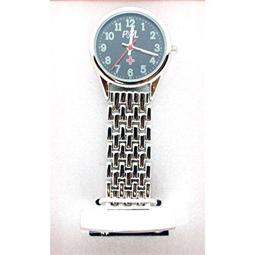 BOXX Krankenschwester Fob Uhr mit Schwarzem Zifferblatt