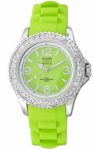 tom watch Damen Armbanduhr XL Analog Silikon WA00019