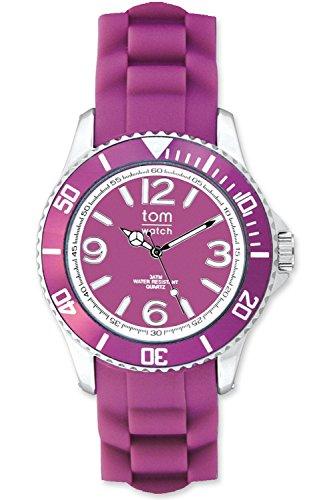tom watch Damen Armbanduhr XL Analog Silikon WA00056
