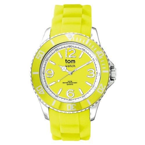 tom watch Damen Armbanduhr XL Analog Silikon WA00128