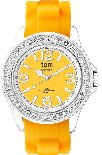 tom watch Damen Armbanduhr Analog Quarz Silikon WA00152