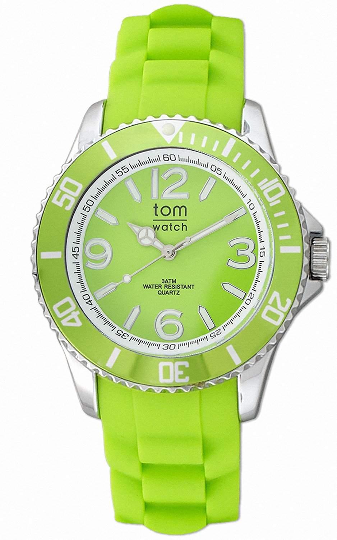 tom watch Damen-Armbanduhr XL Analog Silikon WA00006
