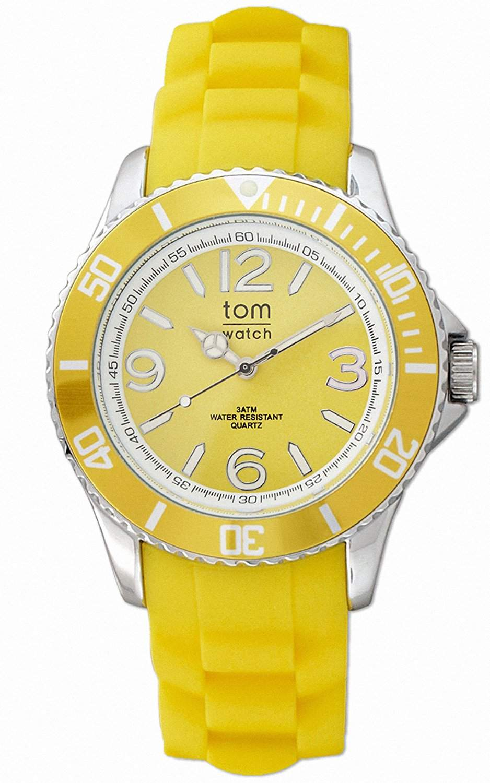 tom watch Damen-Armbanduhr XL Analog Silikon WA00009