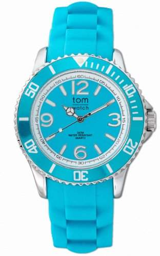 TOM WATCH Armbanduhr BASIC 44 mm Ocean Turquoise, Groesse XL 133-10