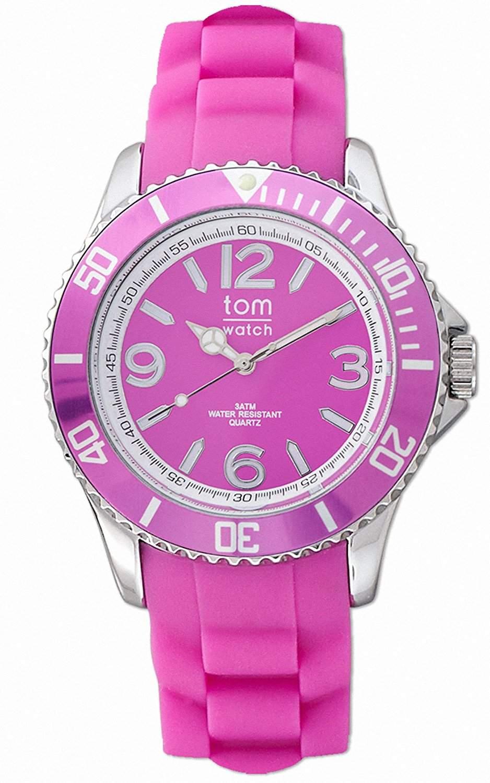tom watch Damen-Armbanduhr XL Analog Silikon WA00011